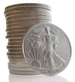 american-silver-eagle-stack